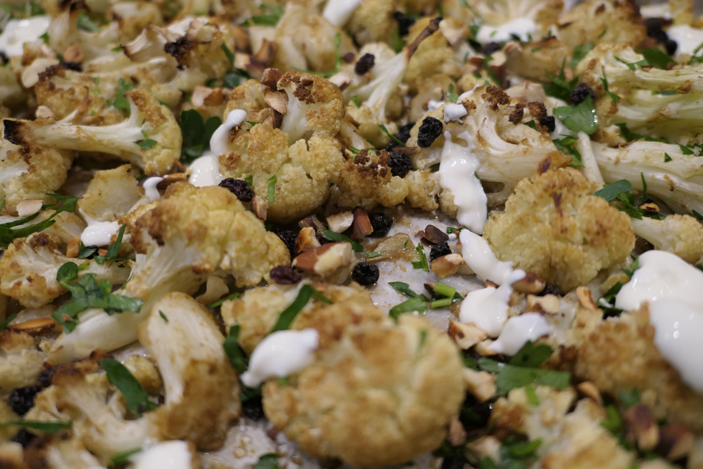 Sandy Moore - Cauliflower and Almond Salad-web